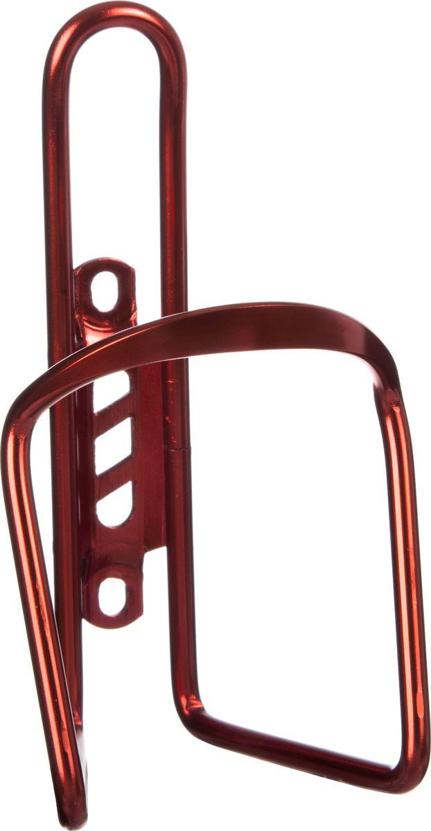 Флягодержатель STG KW-317-05, с болтами, цвет: красныйMW-1462-01-SR серебристыйАлюминиевый флягодержатель поможет зафиксировать флягу или велобутылку на раме, и не даст ей потеряться даже при самом агрессивном катании.