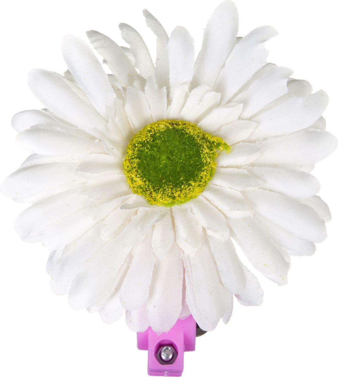 Звонок велосипедный STG Цветок 24AH, цвет: розовыйГризлиЗвонок для детского велосипеда в виде цветка предупредит пешеходов и других велосипедистов о приближении ребенка, тем самым обеспечит безопасность.
