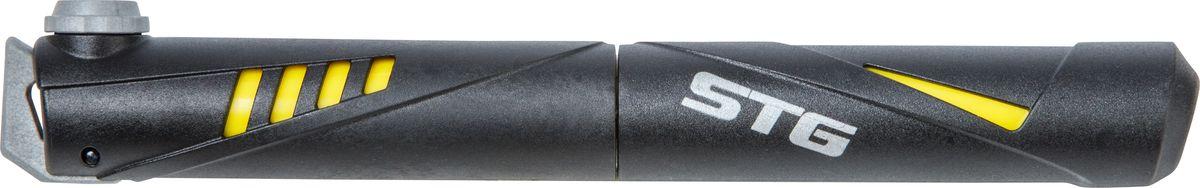 Насос ручной STG GP-49Z90 blackНасос - это необходимый аксессуар любого велосипедиста. Компактный ручной насос с пластиковым корпусом.