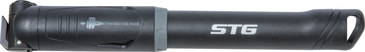 Насос ручной STG GP-86PPZ90 blackНасос - это необходимый аксессуар любого велосипедиста. Компактный ручной насос с пластиковым корпусом.