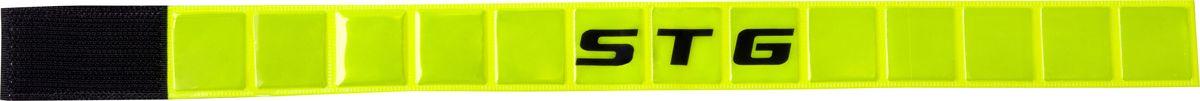 Браслет светоотражающий STG 43444-Y, на липучкеХ82807Мягкий светоотражающий браслет STG 43444-Y можно установить на велосипед, рюкзак, или надеть на руку или ногу. Застегивается на липучку. На браслет нанесен логотип компании STG.Браслет поможет обезопасить вас в темное время суток и сделать более заметным на дороге.