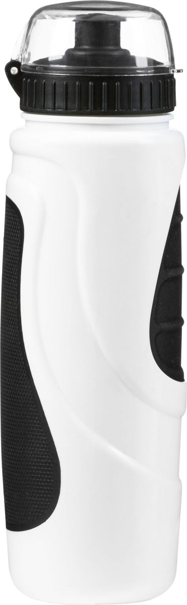 Фляга велосипедная STG DC-BT-55, с крышкой, цвет: черный, белый, 700 мл. Х83103RivaCase 8460 blackВелофляга STG - это незаменимая вещь в походах и на велопрогулках на большие расстояния, подойдет для всех велосипедистов, любителей или профессионалов. Фляга выполнена из ударопрочного пластика стойкого к высоким температурам. Эргономичная форма велобутылки позволяет легко достать и быстро поместить ее во флягодержатель. Оптимальный объем фляги (700 мл) обеспечивает необходимое количество жидкости для подпитки велоспортсмена. Велофляга имеет удобный клапан с блокировкой, который препятствует проникновению воды. Широкое горлышко позволяет перелить воду из небольших емкостей без использования воронки.