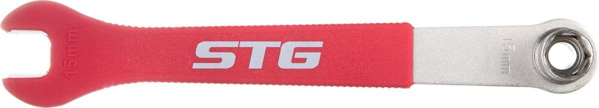 Ключ педальный STG YC-161RivaCase 8460 blackКлюч педальный STG, модель. Подойдет как для индивидуального использования, так и для велоремонтных сервисов.