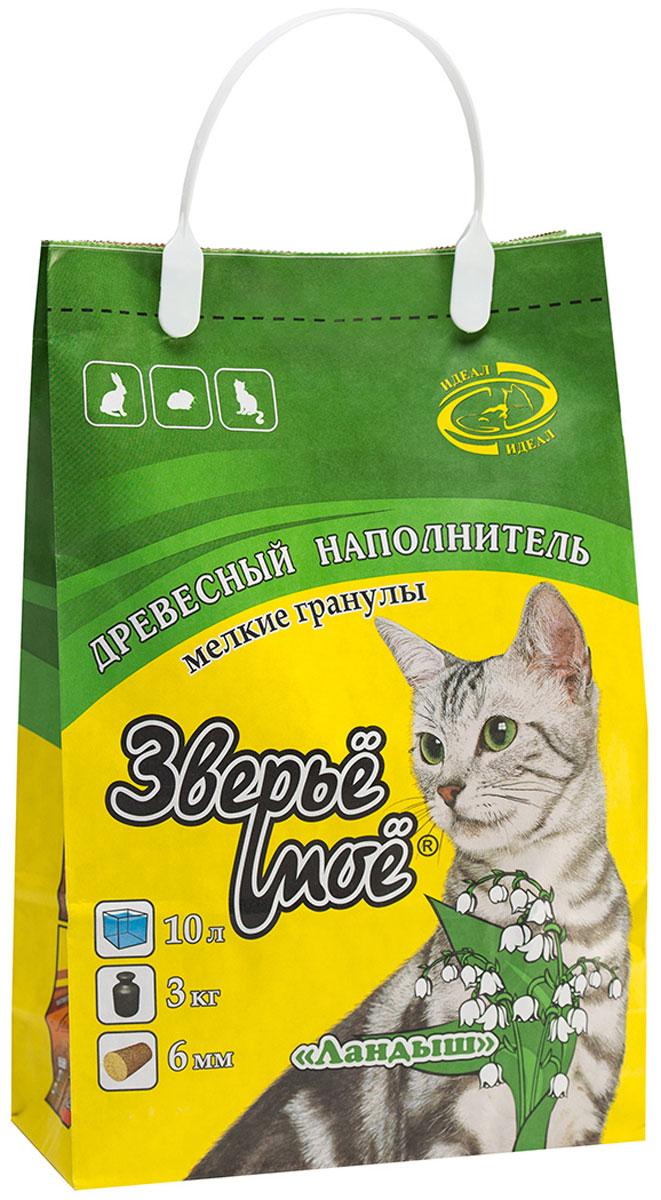 Наполнитель для кошачьего туалета Зверье Мое