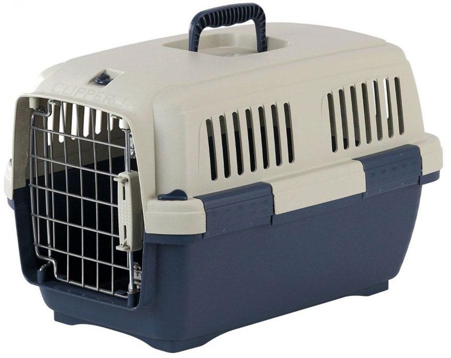 Переноска для животных Marchioro Tortuga 1, цвет: синий, бежевый, 50 х 33 х 32 см0120710Переноска с боковой дверцей Marchioro Tortuga 1, выполненная из прочного пластика, прекрасно подойдет для транспортировки собак и кошек. Дно переноски усилено. Переноска оснащена крышкой с отверстиями для вентиляции. Прочная металлическая дверь запирается на нержавеющий замок типа клиппер. Для удобной переноски имеется ручка на крышке. Переноска быстро и легко собирается. Предназначена для животных весом 3-10 кг. Переноска соответствует стандартам Международной ассоциации воздушного транспорта (IATA), что позволяет использовать ее для перевозки животного в самолете. Вес животного: 3-10 кг.