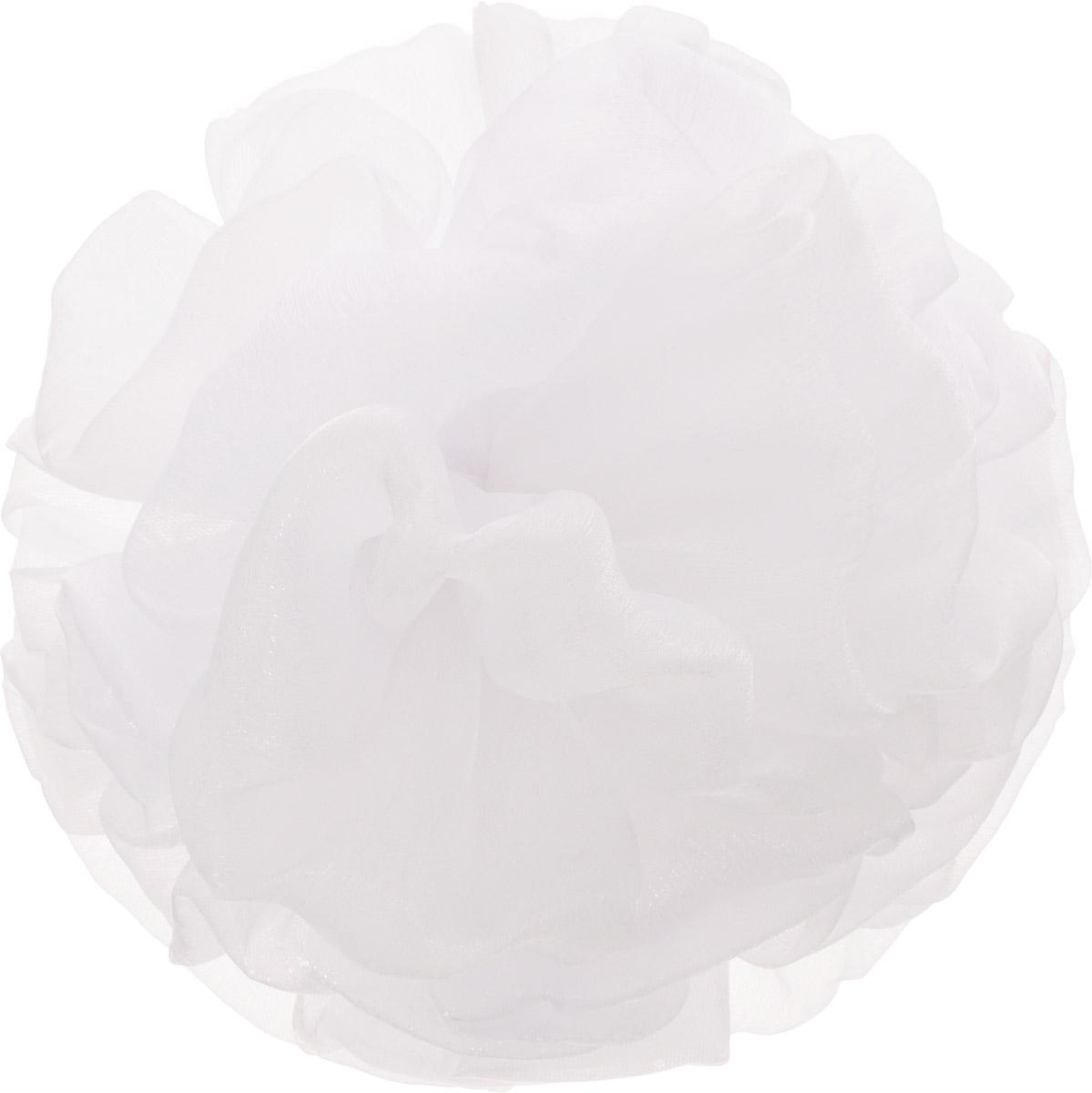 Babys Joy Бант для волос на резинке цвет белый MN 17MP59.4DБант для волос Babys Joy выполнен из мягкого текстиля. Бант на резинке позволит не только убрать непослушные волосы с лица, но и придать образу романтичности и очарования. Такой аксессуар для волос подчеркнет уникальность вашей маленькой модницы и станет прекрасным дополнением к ее неповторимому стилю.