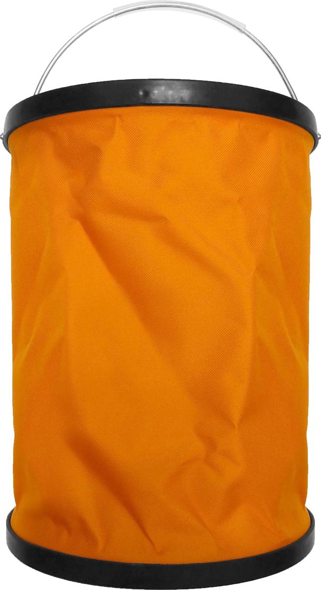 Ведро складное Сити Ап, 15 л. АR1317391602Ведро снабжено удобной и прочной ручкой, раскрывается или убирается буквально одним движением. Фиксирующие кольца ведра создают жесткую форму емкости. Уникальная конструкция не позволяет складываться в наполненном состоянии. Поставляется в комплекте с чехлом на молнии. Особенности складного ведра: Не складывается под тяжестью воды. Водонепроницаема. Можно наливать горячую воду (не более 65° C). Занимает мало места при хранении. Очень легкое, вместительное и удобное в применении. Легко моется.