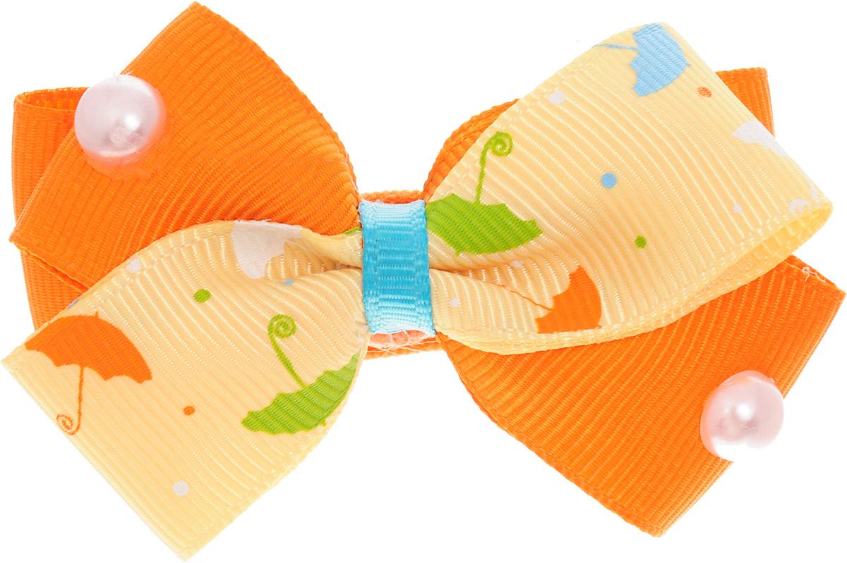 Babys Joy Бант для волос цвет белый оранжевый желтый 2 шт MN 121/2Серьги с подвескамиБант для волос на резинке Babys Joy позволит не только убрать непослушные волосы с лица, но и придать образу романтичности и очарования. Такой аксессуар для волос подчеркнет уникальность вашей маленькой модницы и станет прекрасным дополнением к ее неповторимому стилю. Рекомендовано для детей старше трех лет.