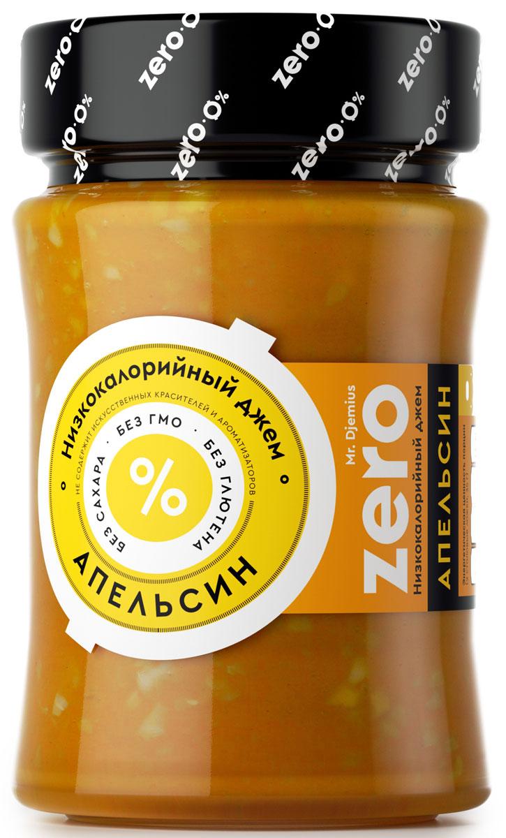 Mr. Djemius zero низкокалорийный джем апельсин, 270 г0120710Этот солнечный фрукт добавит вашему завтраку бодрость, активизируя деятельность всех функций организма, при этом заставит появиться улыбке на вашем лице, даже в самое сонное утро. Многие знают, что апельсин наделен витамином С, а джем от Mr. Djemius ZERO поможет обеспечить суточную потребность вашего организма в нем. Полезный, вкусный джем Апельсин придаст яркую, сочную нотку вашей овсяной каше или диетическому творогу.