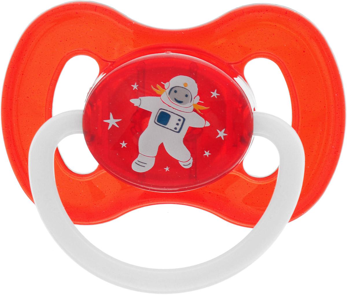 Canpol Babies Пустышка латексная Space Космонавт от 6 до 18 месяцев