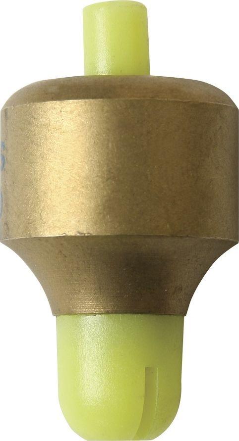 Глубомер Stonfo, цвет: золотой, желтый, 5 г. 236-5002МКглубомер это груз который крепится на крючок оснащённого удилища, для измерения глубины. Глубомеры отличаются весом, и могут иметь разный способ крепления. От обычной пробки, приклеенной к нижней части груза, до специального зажима, что намного удобнее.