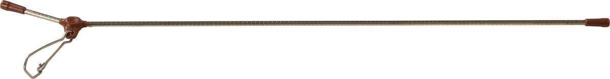 Противозакручиватель Stonfo, цвет: коричневый, серебристый, 15 см. 362-15RivaCase 8460 aquamarineПротивозакручиватель используется для прикрепления груза или кормушки на донную снасть, предотвращает запутывание за основную леску