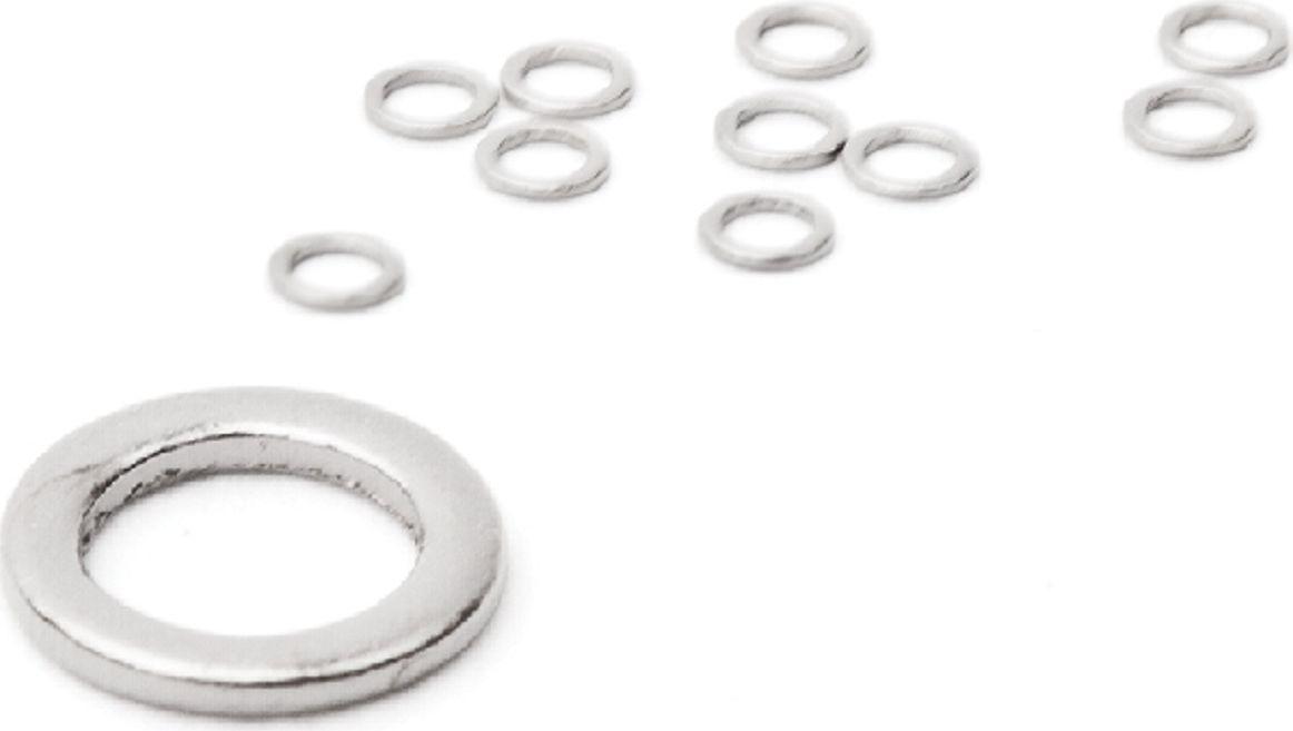 Бесшовное кольцо Power Carp, цвет: серебристый, диаметр 2,5 мм. 712-0003337973Бесшовное кольцо диаметром 2,5 мм для карповой оснастки.Количество: 10 шт., ТМ Power Carp