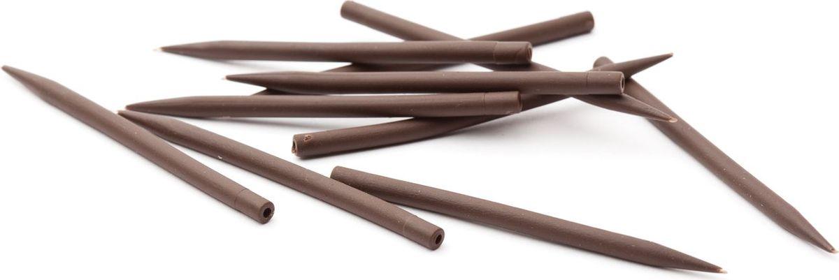 Конусный противозакручиватель Power Carp, цвет: коричневый, 40 мм. 712-00040712-00038Конусный противозакручиватель предотвращает запутывание поводка. Противозакручиватель изготовлен из качественного силиконового материала. 40ммКоличество: 10 штТМ Power Carp