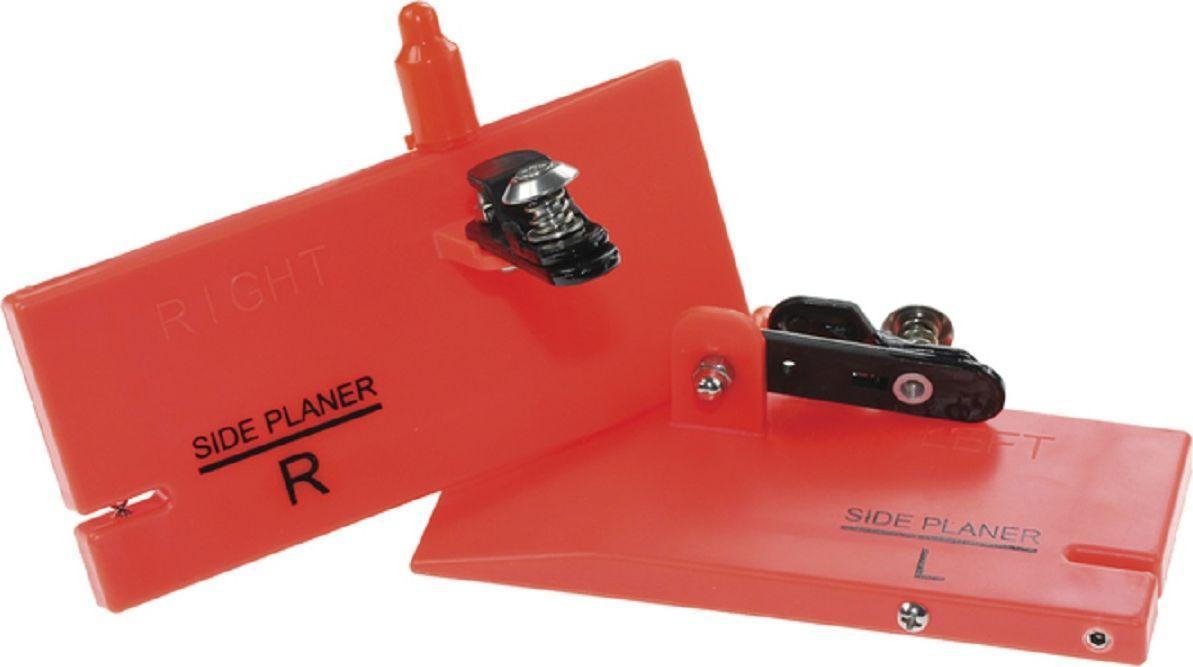 Планер Blind Sideplaner Mini, левый, цвет: красный. BLD-12025010-01199-23Мини-планер левый Blind BLD-12025 Sideplaner Mini левый - прибор, который выдерживает даже крупные воблеры. Верхняя граница теста спиннинга должна быть не менее 50-60 граммов. Рыболовная снасть окрашена прочной водостойкой и ударопрочной эмалью. Изготовлен планер из ударопрочного материала и отводит приманку от лодки на 5-10 метров, что позволяет использовать большее количество снастей и существенно расширить зону ловли.