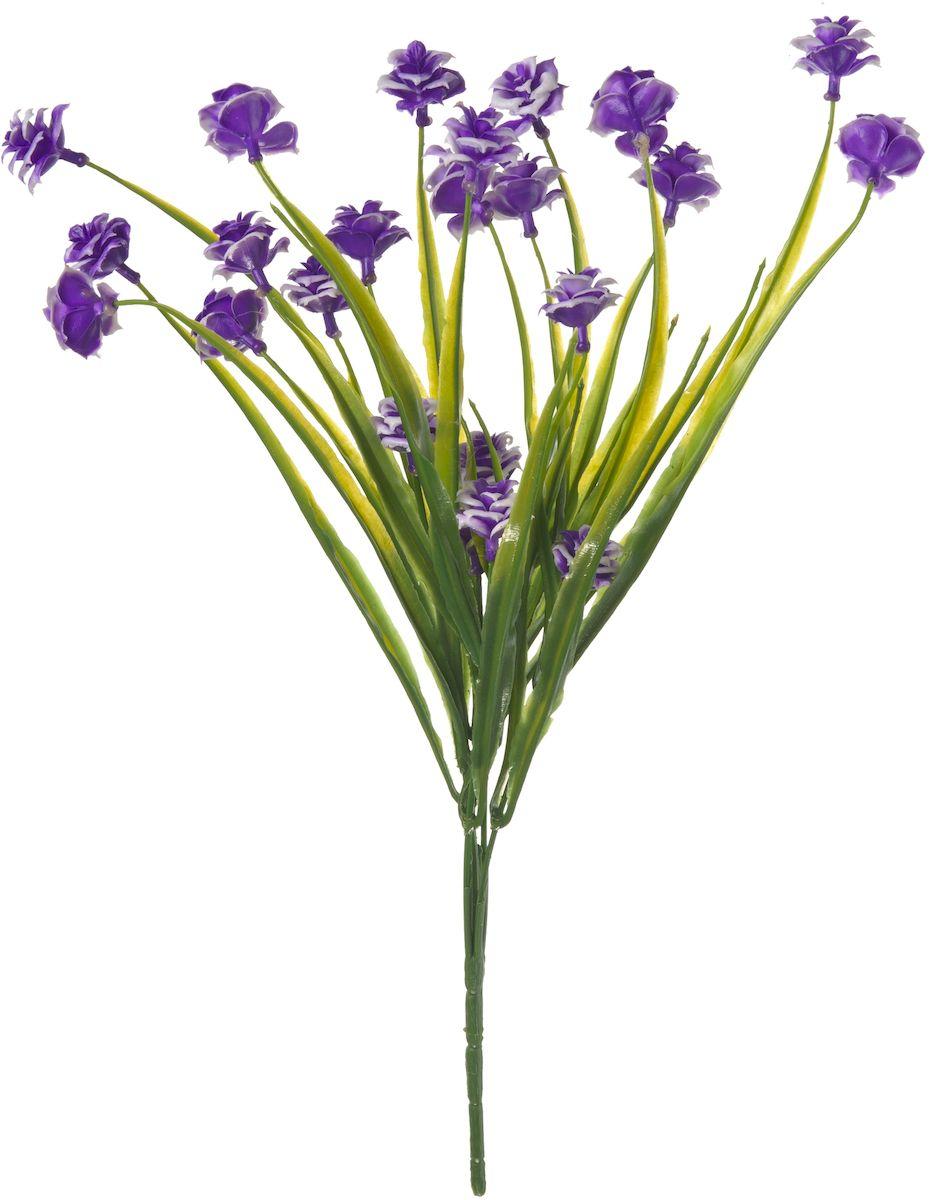 Цветы искусственные Engard Лунный цветок, цвет: синий, 35 см531-402Искусственные цветы Engard - это популярное дизайнерское решение для создания природного колорита и индивидуальности в интерьере. Декоративный букет Лунный цветок фиолетового цвета выполнен из высококачественного материала передающего неповторимою естественность и является достойной альтернативой живым цветам.Не требует постоянного ухода. Размер: 35 см.