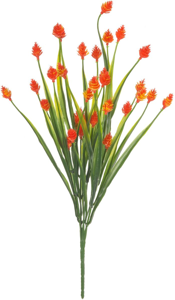 Цветы искусственные Engard Снежноягодник, цвет: оранжевый, 35 смK100Искусственные цветы Engard - это популярное дизайнерское решение для создания природного колорита и индивидуальности в интерьере. Декоративный букет Снежноягодник оранжевого цвета выполнен из высококачественного материала передающего неповторимую естественность и является лучшей альтернативой живым цветам.Не требует постоянного ухода. Размер: 35 см.