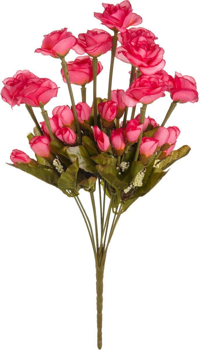 Цветы искусственные Engard Роза кустовая, 42 см. B-YI-10роз531-401Искусственные цветы Engard - это популярное дизайнерское решение для создания природного колорита и индивидуальности в интерьере. Кустовые розы высотой 42 см выглядят довольно реалистично, нежно и являются достойной альтернативой натуральным цветам. Розы имеют идеально собранную форму. Не требует постоянного ухода.