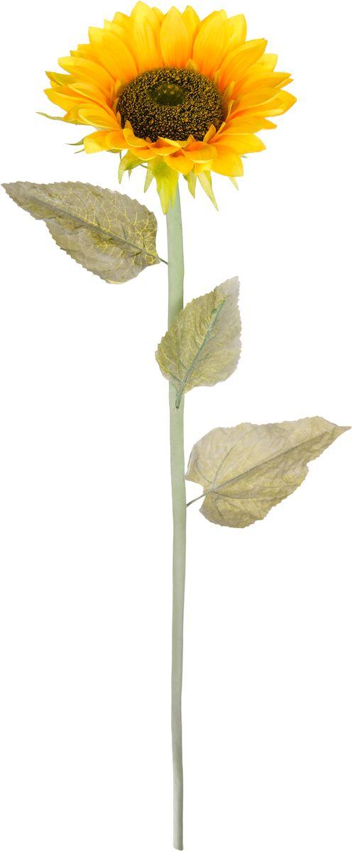 Цветок искусственный Engard Подсолнух, 85 см531-105Искусственные цветы Engard - это популярное дизайнерское решение для создания природного колорита и индивидуальности в интерьере. Искусственный подсолнух выполнен из высококачественного материала аккуратно и довольно реалистично благодаря эффекту декоративного напыления. Подсолнух создает позитивную энергию для окружающих.Не требует постоянного ухода. Размер: 85 см.