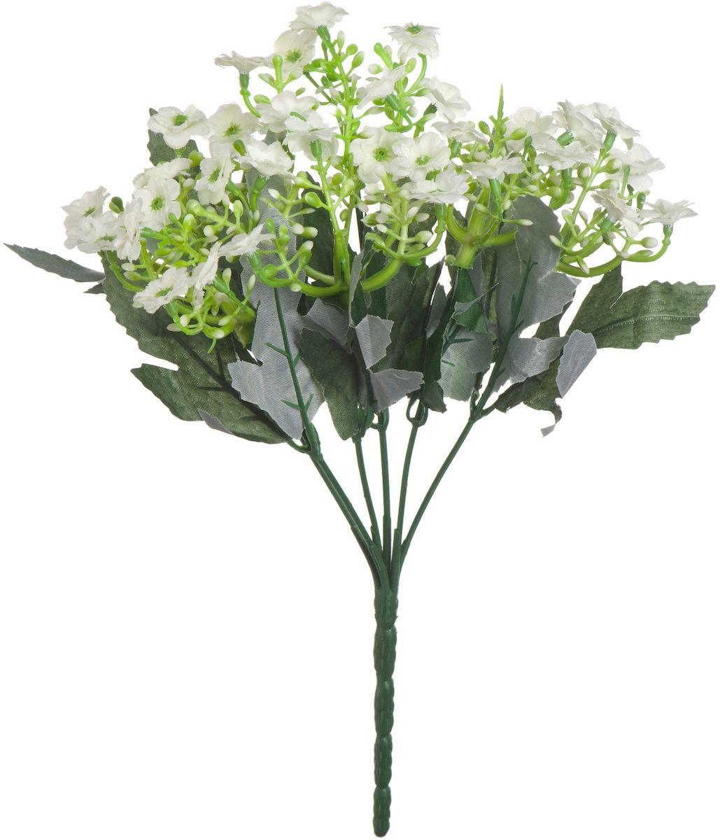 Цветы искусственные Engard Орхидея, цвет: белый, 23 см531-105Искусственные цветы Engard - это популярное дизайнерское решение для создания природного колорита и индивидуальности в интерьере. Искусственные цветы сделаны из высококачественного материала передающего неповторимую естественность и легкость. Не требует постоянного ухода. Цвет: розовый/желтый/сиреневый/белый.Размер: 23 см.