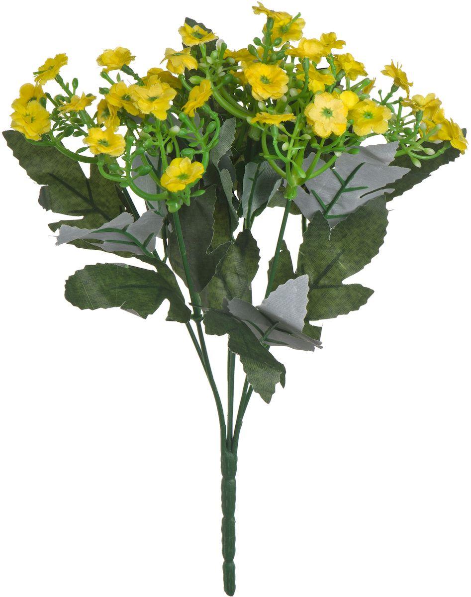 Цветы искусственные Engard Орхидея, цвет: желтый, 23 см531-105Искусственные цветы Engard - это популярное дизайнерское решение для создания природного колорита и индивидуальности в интерьере. Искусственные цветы сделаны из высококачественного материала передающего неповторимую естественность и легкость. Не требует постоянного ухода. Цвет: розовый/желтый/сиреневый/белый.Размер: 23 см.