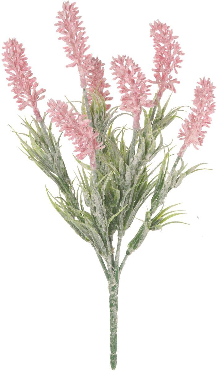 Цветы искусственные Engard Лаванда, цвет: розовый, 27 см1092019Искусственные цветы Engard - это популярное дизайнерское решение для создания природного колорита и индивидуальности в интерьере. Искусственная лаванда приятного нежно-розового цвета выполнена из высококачественного материала аккуратно и довольно ралистично благодаря эффекту декоративного напыления.Не требует постоянного ухода. Размер: 27 см.