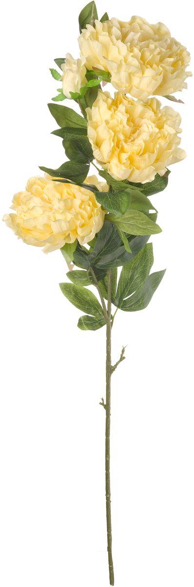 Цветы искусственные Engard Пион, цвет: кремовый, высота 105 смE4-PKИскусственный пион Engard кремового цвета выполнен из высококачественного материала, передающего неповторимую естественность и является достойной альтернативой живым цветам. В интерьере очень часто пионы используют для оформления комнат в восточном стиле, так как этот цветок символизирует крепость семейного очага и искреннюю любовь. Не требует постоянного ухода. Высота: 105 см.