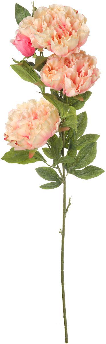 Цветы искусственные Engard Пион, цвет: розовый, 105 см74-0080Искусственный пион нежно-розового цвета выполнен из высококачественного материала передающего неповторимую естественность и является достойной альтернативой живым цветам. В интерьере очень часто пионы используют для оформления комнат в восточном стиле, так как этот цветок символизирует крепость семейного очага и искреннюю любовь. Не требует постоянного ухода. Размер: 105 см.
