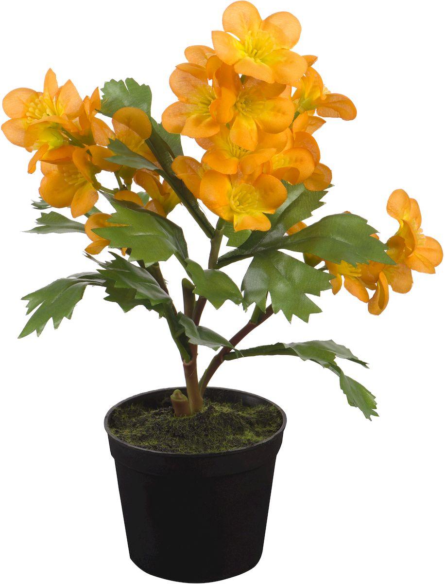 Цветы декоративные Engard Композиция желтых цветов, в цветочном горшке, 30 см531-402Искусственные цветы Engard - это популярное дизайнерское решение для создания природного колорита и гармонии в пространстве. Искусственный цветок желтого цвета высотой 30 см выполнен из высококачественного материала передающего неповторимую естественность является достойной альтернативой живым цветам. Не требует постоянного ухода.