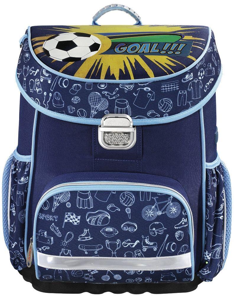 Hama Ранец школьный Soccer цвет синий139069