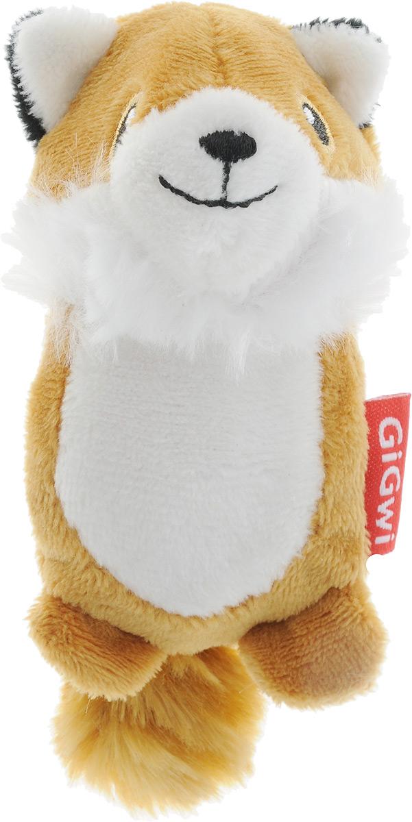 Игрушка для собак GiGwi Лисичка, с пищалками, длина 12 см0120710Игрушка для собак GiGwi Лисичка порадует вашу собаку и доставит ей море веселья. Несмотря на большое количество материалов, большинство собак для игры выбирают классическую плюшевую игрушку. Такую игрушку можно носить, уютно прижиматься во сне, жевать. Некоторые собаки просто любят взять в зубы игрушку и ходить с ней повсюду. Мягкая игрушка сохраняет запах питомца, поэтому он каждый раз к ней возвращается.Такая зверушка характеризуется высоким качеством исполнения и привлекательным дизайном. Внутри игрушки нет наполнителя, что поможет сохранить чистоту в помещении. Игрушка снабжена пищалкой.