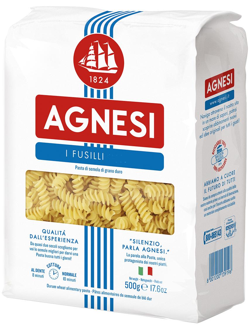 Agnesi макаронные изделия спираль лигурийская, 500 г0120710Варить в кипящей подсоленной воде (100 г продукта на 1 л воды) в течении 10 минут