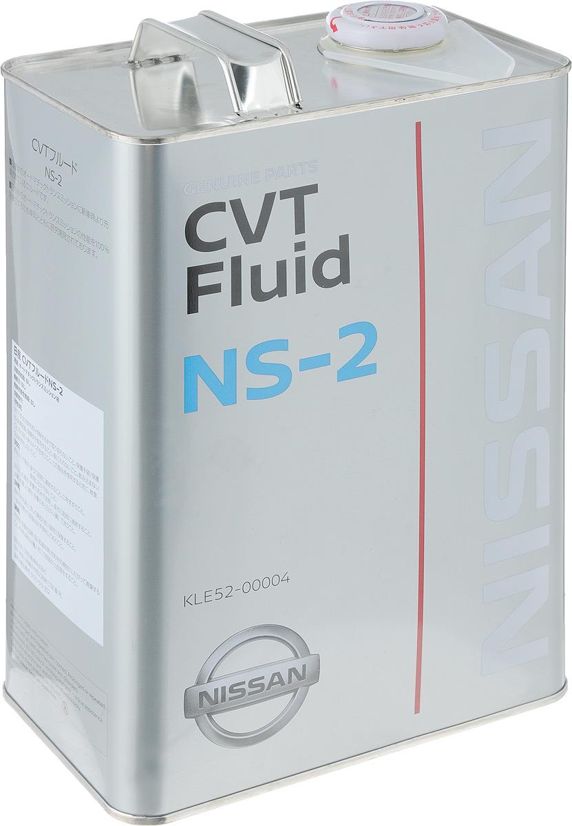 Масло трансмиссионное Nissan CVT NS-2, для АКПП, 4 л10503Трансмиссионное масло Nissan CVT NS-2, для АКПП, предназначено для автомобилей Nissan, оборудованных автоматическими коробками передач вариаторного типа (Giper CVT). Товар сертифицирован.