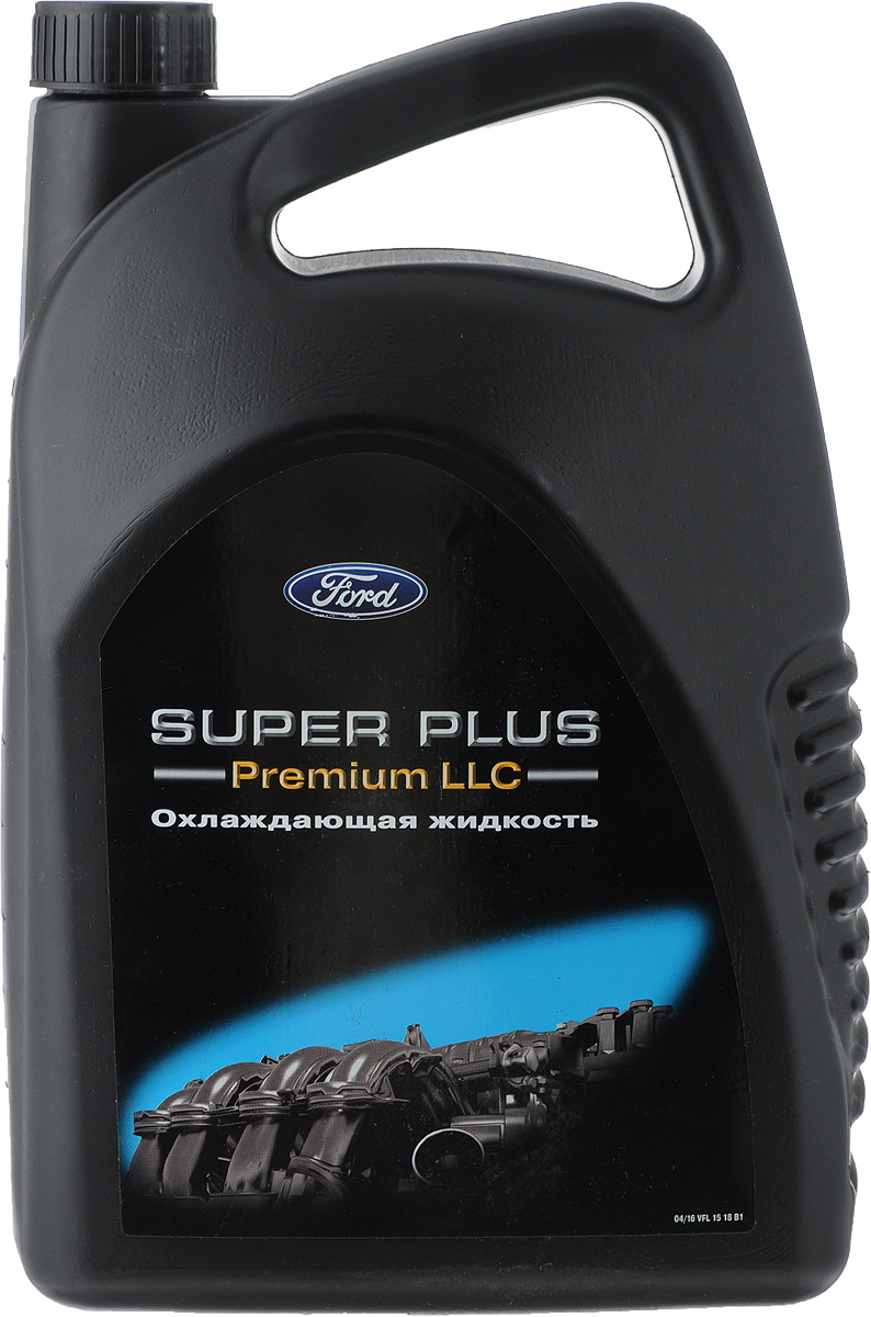 Антифриз Ford Super Plus. Premium LLC, концентрат, 5 л жидкость от утечки охлаждающей жидкости где