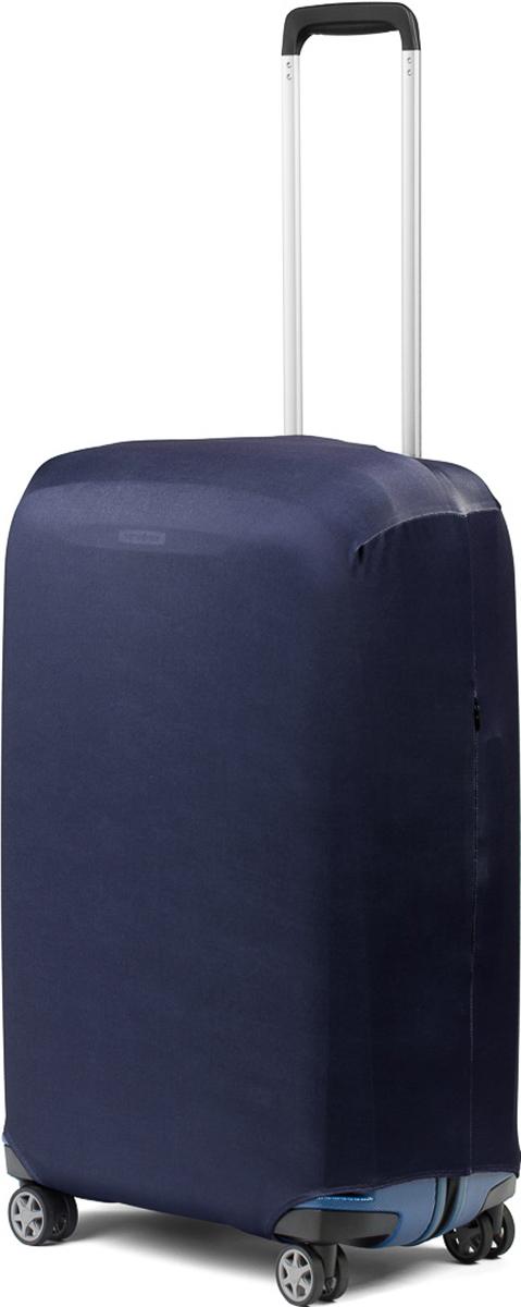 Чехол для чемодана RATEL Синий. Размер L (высота чемодана: 65-75 см.)B003LСтильный и практичный чехол RATEL всегда защитит ваш чемодан. Размер L предназначен для больших чемоданов высотой от 65 см до75 см (только высота чемодана без учета высоты колес). Благодаря прочной иэластичной ткани чехол RATEL отлично садится на любой чемодан. Все важные части чемодана полностью защищены, а для боковых ручек предусмотрены две потайные молнии. Внизу чехла - упрочненная молния-трактор. Ткань чехла приятная на ощупь, не скользит и легко надевается на чемодан. Наличие запатентованного кармашка на чехле служит ориентиром и позволяет быстро и правильнонадеть чехол.Назначение чехла Ratel:Защищает чемодан от пыли, грязи иразных повреждений. Экономит ваши деньги и время на обмотке пленкой чемодана в аэропорту. Защищает ваш багаж от вскрытия. Предупреждает перевес. Чехол легко и быстро снять с чемодана и переложить лишние вещи, в отличие от обмотки. Яркая индивидуальность. Вы никогда не перепутаете свой чемодан с чужим как на багажной ленте в аэропорту, так ив туристическом автобусе. Легкий и компактный, не добавляет веса, не занимает места. Складывается сам в себя. Характеристики:Материал: бифлекс, плотность - 240 грамм.Тип застежки: молния. Размер чемодана: L (высота чемодана 65-75 см без учета высоты колес).