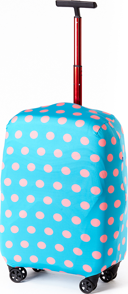 Чехол для чемоданаRATEL Горох розовый на голубом. Размер L (высота чемодана: 65-75 см.)D010LСтильный и практичный чехол RATEL всегда защитит ваш чемодан. Размер L предназначен для больших чемоданов высотой от 65 см до75 см (только высота чемодана без учета высоты колес). Благодаря прочной иэластичной ткани чехол RATEL отлично садится на любой чемодан. Все важные части чемодана полностью защищены, а для боковых ручек предусмотрены две потайные молнии. Внизу чехла - упрочненная молния-трактор. Ткань чехла приятная на ощупь, не скользит и легко надевается на чемодан. Наличие запатентованного кармашка на чехле служит ориентиром и позволяет быстро и правильнонадеть чехол.Назначение чехла Ratel:Защищает чемодан от пыли, грязи иразных повреждений. Экономит ваши деньги и время на обмотке пленкой чемодана в аэропорту. Защищает ваш багаж от вскрытия. Предупреждает перевес. Чехол легко и быстро снять с чемодана и переложить лишние вещи, в отличие от обмотки. Яркая индивидуальность. Вы никогда не перепутаете свой чемодан с чужим как на багажной ленте в аэропорту, так ив туристическом автобусе. Легкий и компактный, не добавляет веса, не занимает места. Складывается сам в себя. Характеристики:Материал: бифлекс, плотность - 240 грамм.Тип застежки: молния. Размер чемодана: L (высота чемодана 65-75 см без учета высоты колес).