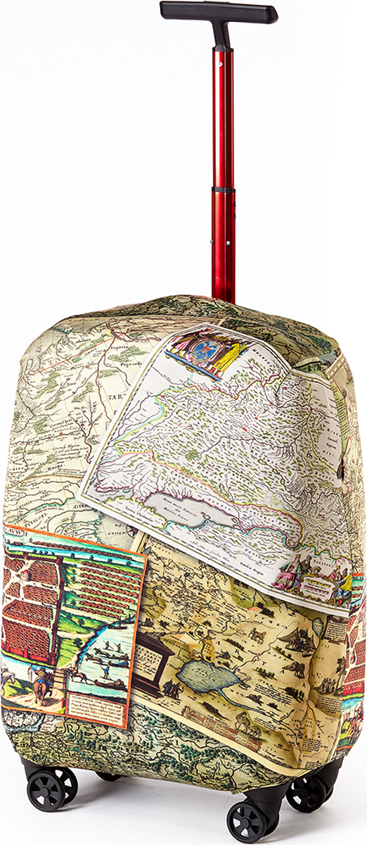 Чехол для чемодана RATEL  Карта . Размер M (высота чемодана: 55-64 см.) - Чехлы для чемоданов