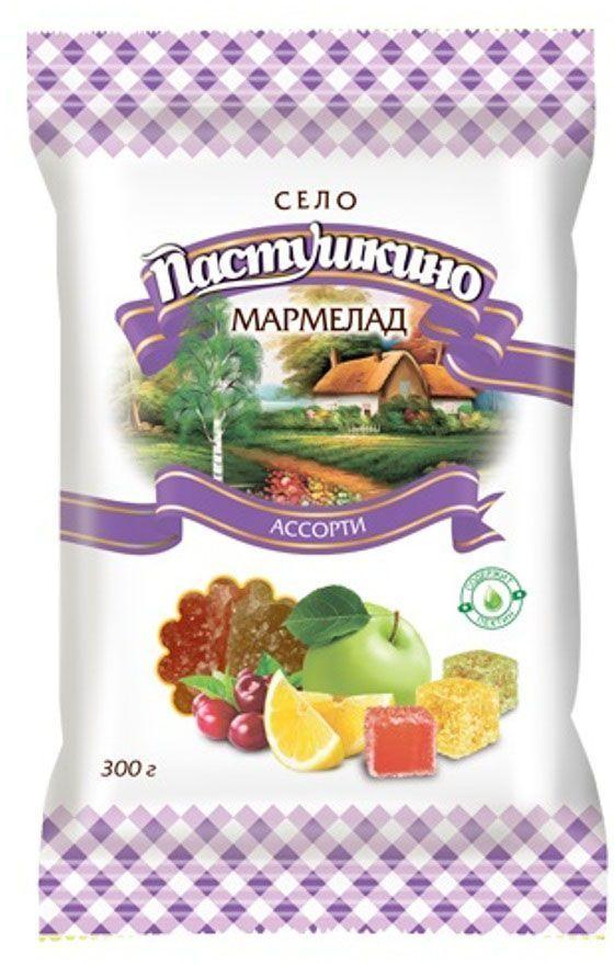 Село Пастушкино мармелад ассорти, 300 г