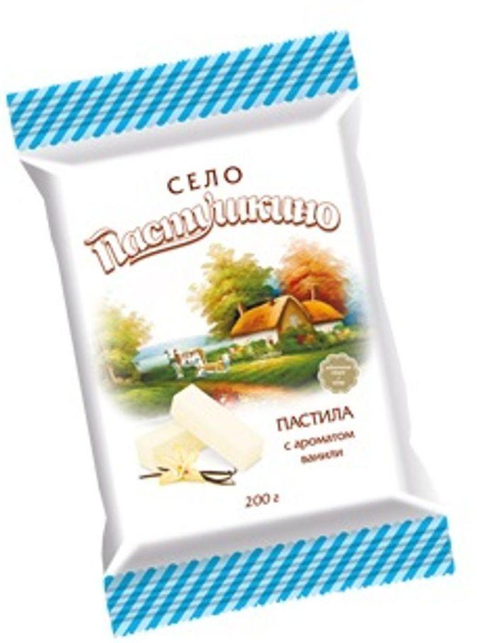Село Пастушкино пастила с ароматом ванили, 200 г