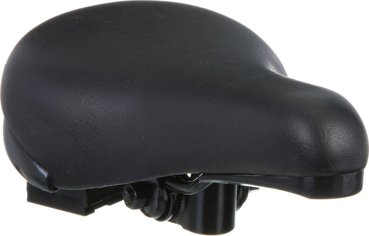 Седло STG HBAZ-0617 Novatrack, для 18 и 20, цвет: черныйХ38898Седло Novatrack для детского велосипеда размером 18 и 20 с замком.