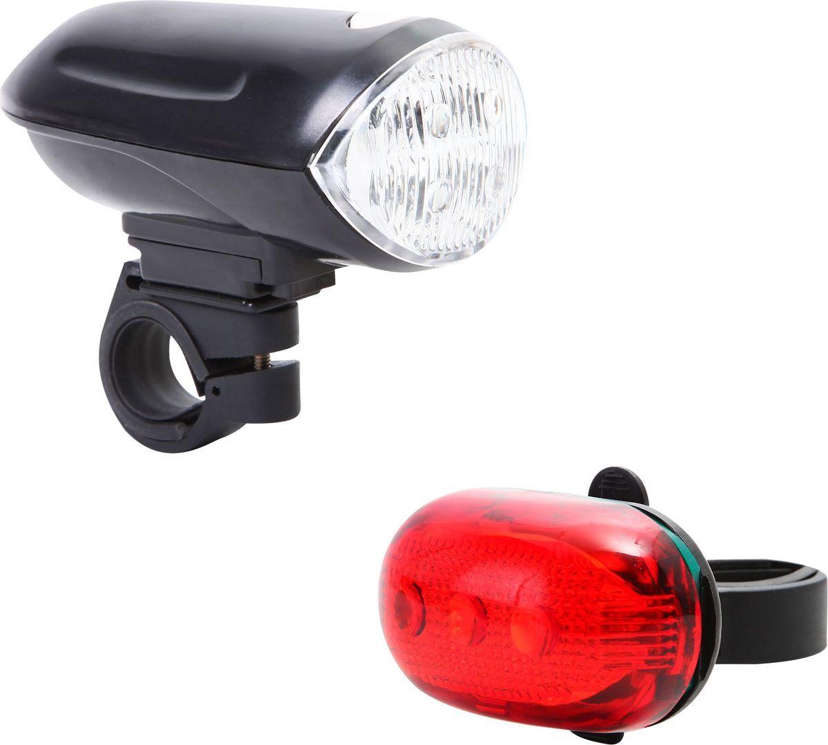 Набор велосипедных фонарей STG JY-808-11. JY-289Т, пердний, задний7292Передний велосипедный передний фонарь позволит кататься на велосипеде в любое время суток, а задний фонарь позволит другим участникам движения увидеть вас при любой освещенности. Вес: 177гр, кол-во функций: 3 функции, комплектация: без батареек, типа батареек: АА - 4шт., материал: пластик.