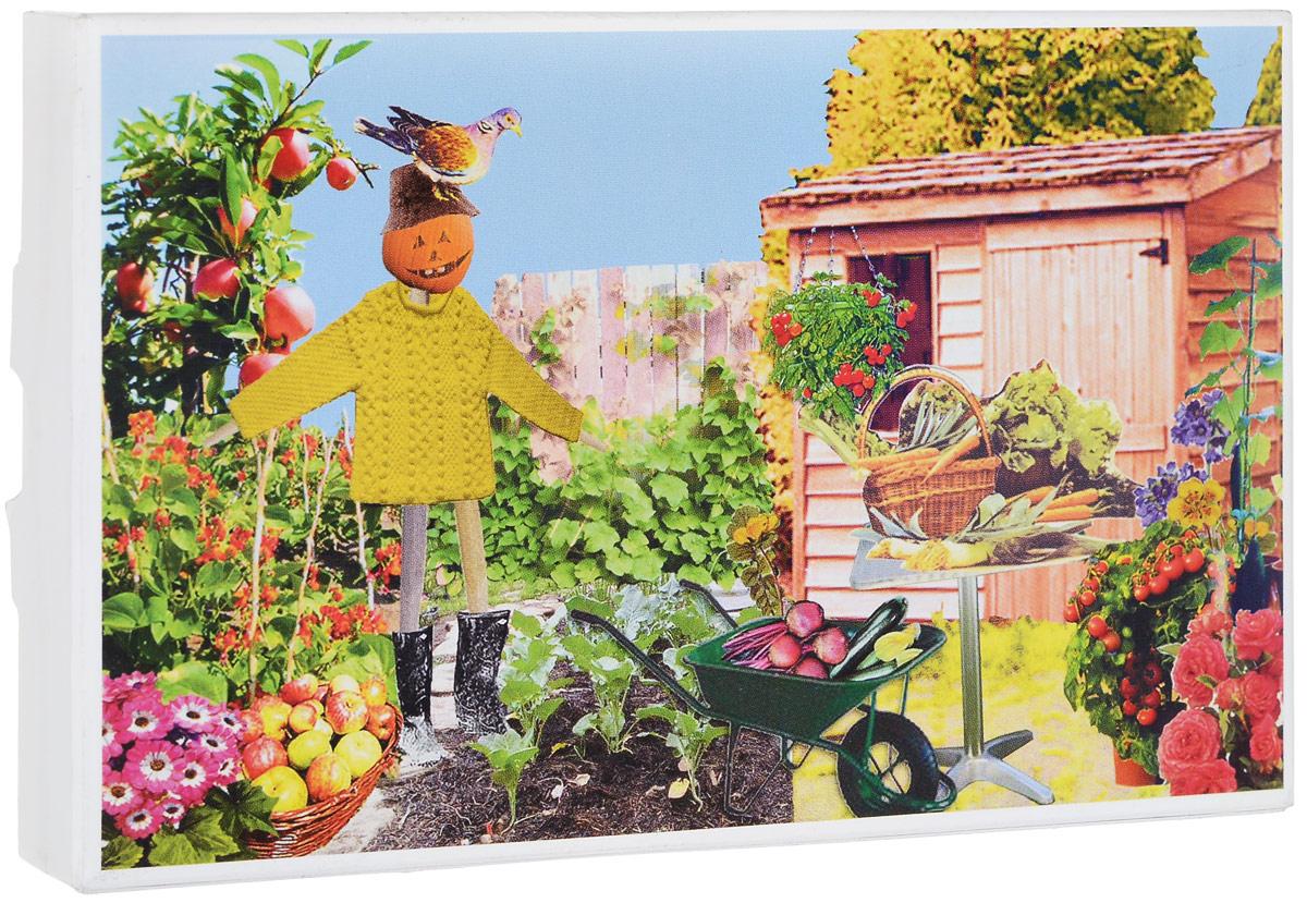 Открытка Postcarden Огород. 00148U210DFАнглийский бренд Postcarden предлагает Вашему вниманию первый из очаровательных вдумчивых подарков для людей всех возрастов и увлечений. Поздравительные открытки Postcarden - абсолютно необычный подарок из Англии!Обычная поздравительная открытка - универсальный подарок, имеющий единственный недостаток: открытке остро не хватает сюрприза, из-за чего радость от нее получается одномоментной. Дизайнер Айми Фернивал (Aimee Furnival, Англия) нашла способ сделать открытку необычной, игривой, интерактивной, живущей, растущей и дарящей радость ДЕНЬ за ДНЕМ!Британское изобретение садкрытка умиляет: почтовая открытка за несколько дней превращается в живой мини-садик, с которого можно собрать урожай. Садкрытка образуется слиянием русских слов сад и открытка. Точно так же Postcarden - это соединение Postcard и Garden. Садик в открытке! Прелесть! Оживите пространство вокруг себя и Вы почувствуете прилив сил и позитивных эмоций. Рекомендации по использованию:1. Откройте и соберите открытку. 2. Любым имеющимся в наличии клеем, приклейте участки помеченные надписью Glue this side. 2. Слегка смочите салфетку (2-3 столовые ложки воды). 3. Распределите часть семян из пакетика равномерно по салфетке так, чтобы между семенами оставалось небольшое пространство 1-2 мм. 4. Поставьте в хорошо освещенное, теплое место. 5. Через 3-5 дней появятся первые побеги Кресс салата. 6. По необходимости, раз в день подливайте 1-2 столовые ложки воды (удобнее всего это делать пипеткой или одноразовым шприцем). 7. Полноценная зрелость растений будет достигнута на 20-25й день. 8. После созревания кресс салат можно употребить в пищу. В набор входят: открытка, семена Кресс салата и пластиковый лоток для проращивания семян.Характеристики: Материал: картон, семена Кресс салата.Размер в сложенном виде: 16 см х 10 см х 2 см.Размер в разобранном виде: 16 см х 10 см х 10 см.Производитель: Великобритания.