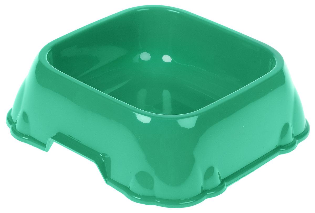 Миска для животных Каскад, цвет: зеленый, 1,2 л0120710Миска для животных Каскад изготовлена извысококачественного пластика и предназначенадля корма и воды. Она порадует удобством использования каксамих животных, так и их хозяев. Яркий дизайн придаст изделию индивидуальность иудовлетворит вкус самых взыскательных зоовладельцев.Внутренний размер миски: 17,5 х 17,5 см. Высота миски: 7 см.