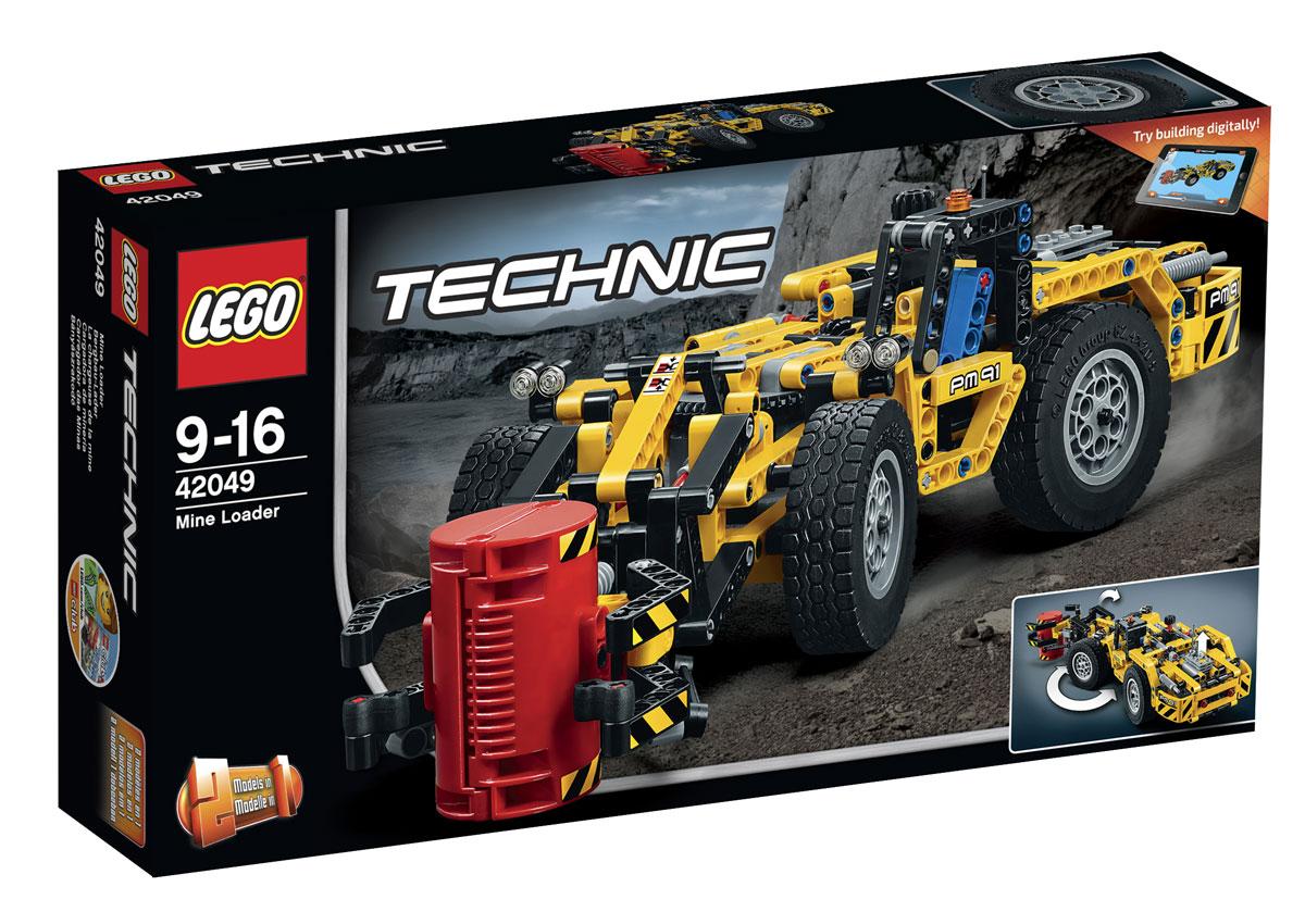 LEGO Technic Конструктор Карьерный погрузчик 42049