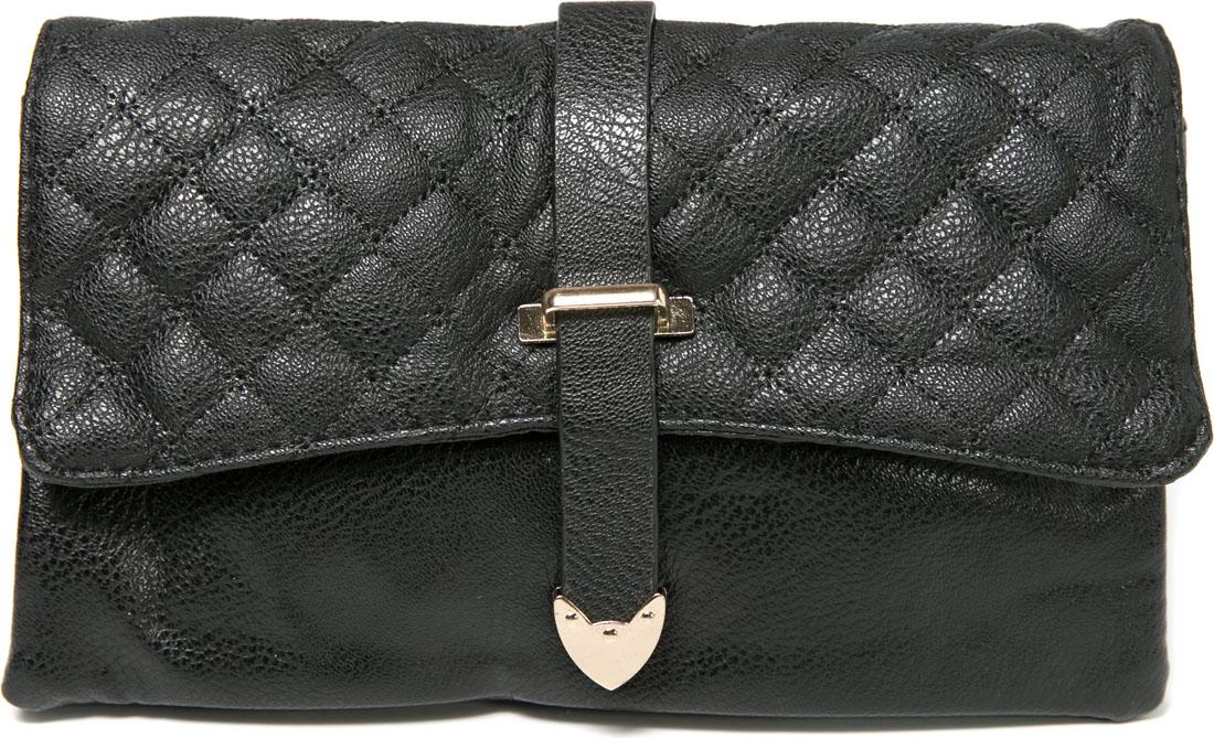 Клатч женский Mitya Veselkov, цвет: черный. LADYBAG6-214106черныеПрекрасный черный клатч, закрывается на кнопку, внутри 3 отделения. Декорирован застежкой. Можно использовать как сумку, в комплекте есть ремешок. Размер 22,5Х13,5Х1,5 см.
