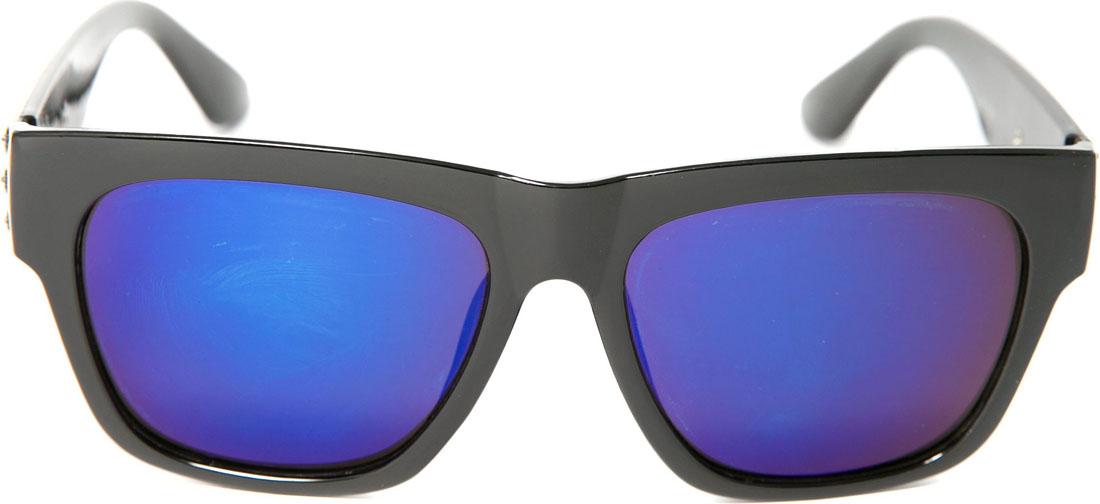 Очки солнцезащитные женские Mitya Veselkov, цвет: черный. OS-2481-022_516Стильные солнцезащитные очки станут прекрасным и модным аксессуаром для Вас и защитят от УФ лучей.