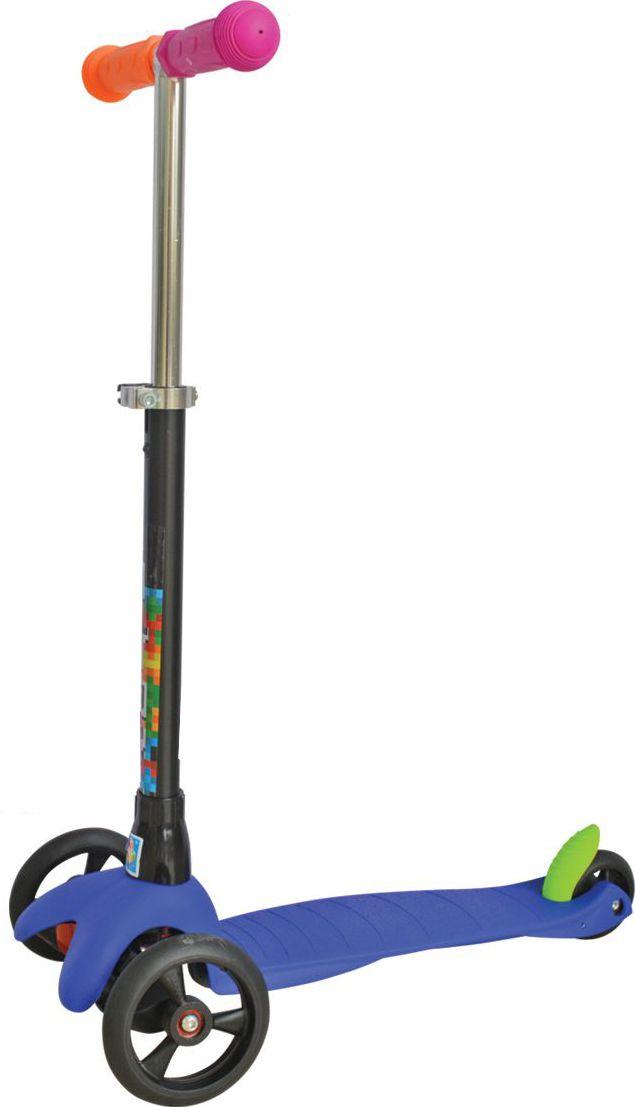 Самокат детский трехколесный 1 Toy. Т57632Т57632Самокат трехколесный, управляется наклоном