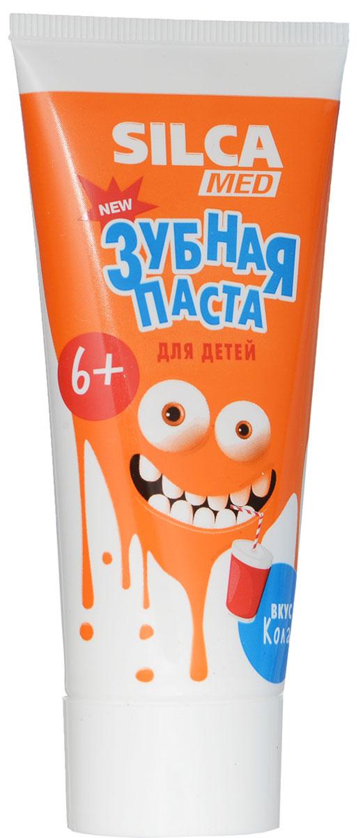 Silca Med Зубная паста детская со вкусом колы с 6 лет 65 г