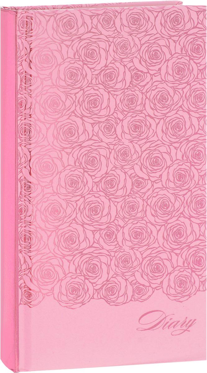 Феникс+ Ежедневник Розы 120 листов2312046Ежедневник Феникс+ Бабочки - это один из удобных способов систематизации всех предстоящих событий и незаменимый помощник для каждого. Обложка выполнена из твердого переплета, картон с поролоном, розового цвета с рисунком из фольги в виде роз. Обложка имеет металлически-розовый срез. Ежедневник имеет ляссе.Внутренний блок включает 120 листов офсетной бумаги без линовки пяти разных цветов: желтый, розовый, голубой, фиолетовый, зеленый. Все планы и записи всегда будут у вас перед глазами, что позволит легко ориентироваться вграфике дел, событий и встреч.