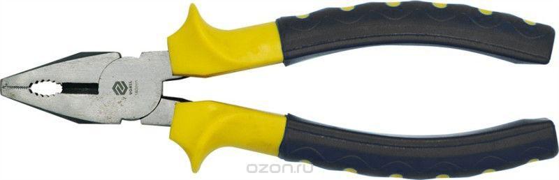 Плоскогубцы Vorel, универсальные, длина 16 смCA-3505Плоскогубцы Vorel предназначены для выполнения слесарных, монтажных и ремонтных работ. Изготовлены из стали. Эргономичные рукоятки выполнены из прочного пластика.Длина плоскогубцев: 16 см.
